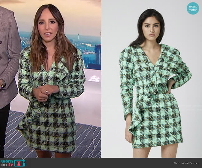 Leave Me Be Dress by Atoir worn by Lilliana Vazquez  on E! News