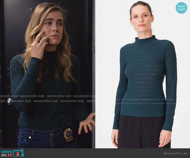 Kavie Sweater by Club Monaco worn by Michaela Stone (Melissa Roxburgh) on Manifest