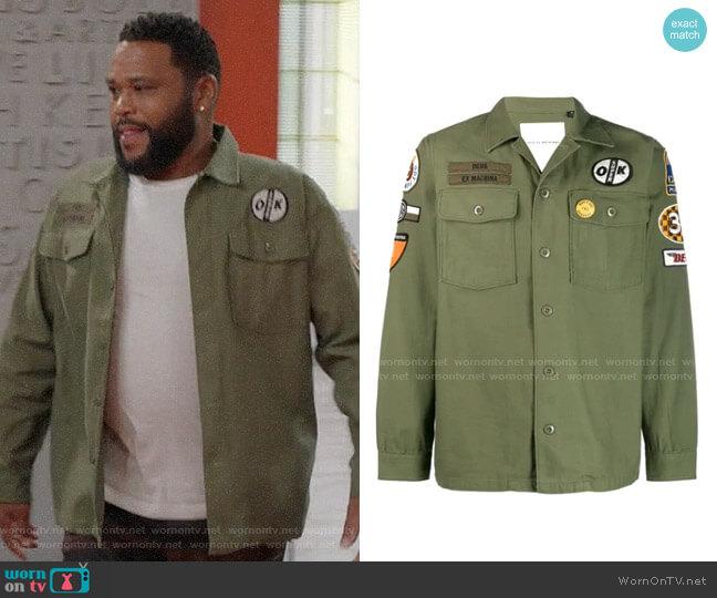 Deus Ex Machina Military Shirt Jacket worn by Andre Johnson (Anthony Anderson) on Blackish