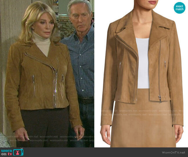 Elie Tahari Angalie Jacket  worn by Marlena Evans (Deidre Hall) on Days of our Lives