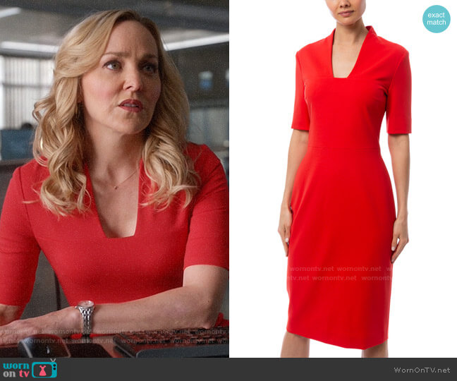 Escada Danisi Dress worn by Marissa Morgan (Geneva Carr) on Bull