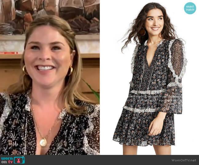 Essie Dress by Ulla Johnson worn by Jenna Bush Hager  on Today