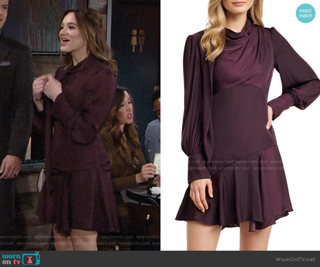 Ever New Tiah Dress worn by Summer Newman (Hunter King) on The Young & the Restless