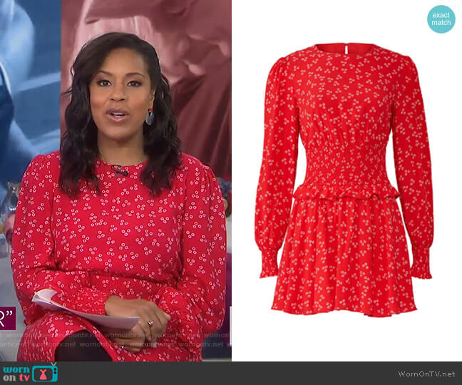Frida Dress by Finders Keepers worn by Sheinelle Jones  on Today