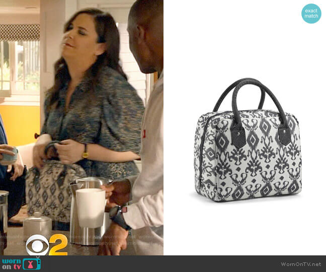 Target Fit & Fresh Bloomington Lunch Tote worn by Sara Castillo (Lindsay Mendez) on All Rise