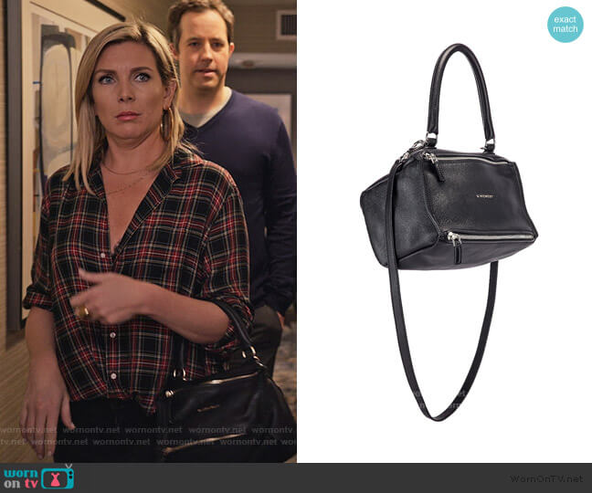 Pandora Bag by Givenchy worn by Brianna (June Raphael) on Grace & Frankie