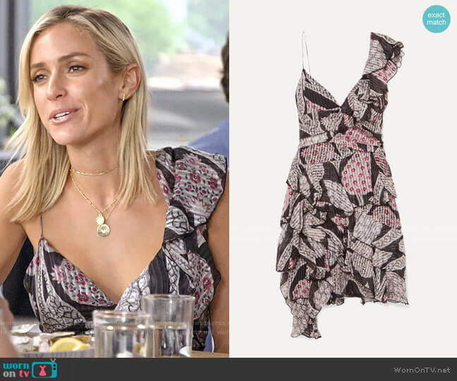 Isabel Marant Enta Dress worn by Kristin Cavallari  on Very Cavallari