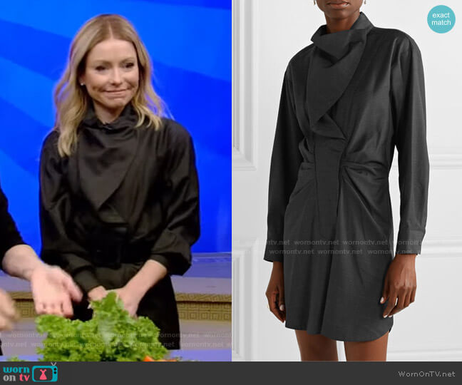 Valentine Dress by Isabel Marant Etoile worn by Kelly Ripa  on Live with Kelly & Ryan