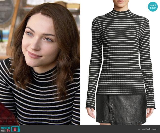 Joie Gestina Sweater worn by Cara Bloom (Violett Beane) on God Friended Me