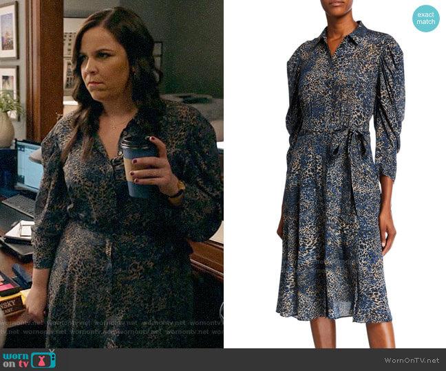 Kobi Halperin Morgan Dress worn by Sara Castillo (Lindsay Mendez) on All Rise