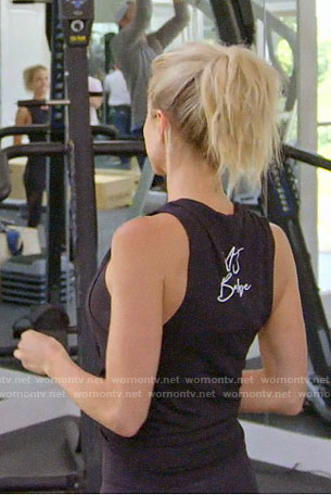 Kristin's UJ Babe tank top on Very Cavallari