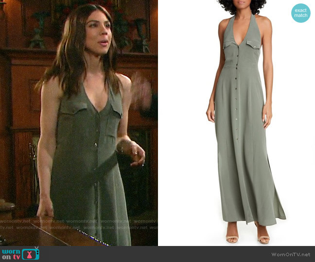 L'Agence Amina Dress worn by Abigail Deveraux (Kate Mansi) on Days of our Lives