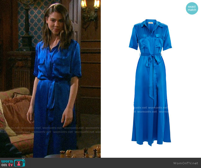 L'Agence Klement Dress worn by Abigail Deveraux (Kate Mansi) on Days of our Lives