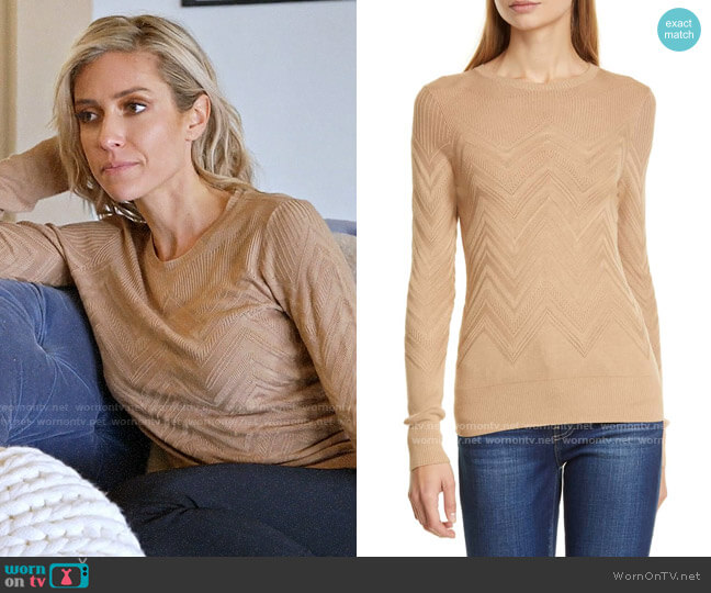 L'Agence Suka Sweater worn by Kristin Cavallari  on Very Cavallari