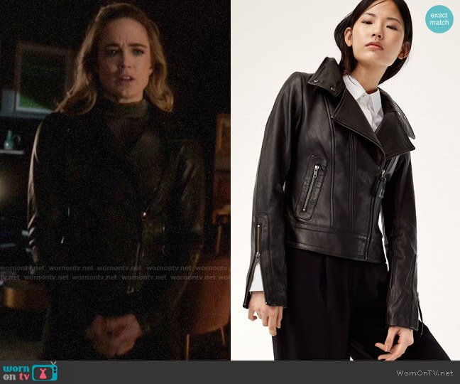 Mackage Kenya Jacket worn by Sara Lance (Caity Lotz) on Arrow