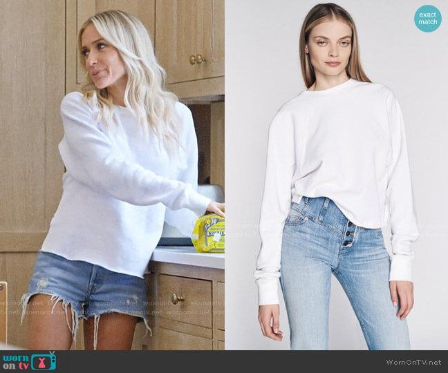 Marissa Webb So Uptight Zipper Pullover worn by Kristin Cavallari  on Very Cavallari