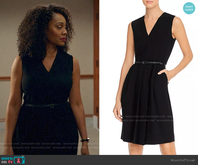 Max Mara Pedale Dress worn by Lola Carmichael (Simone Missick) on All Rise