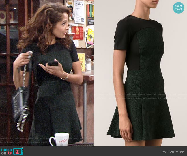 Opening Ceremony Fingerprint Dress worn by Lily Winters (Christel Khalil) on The Young & the Restless