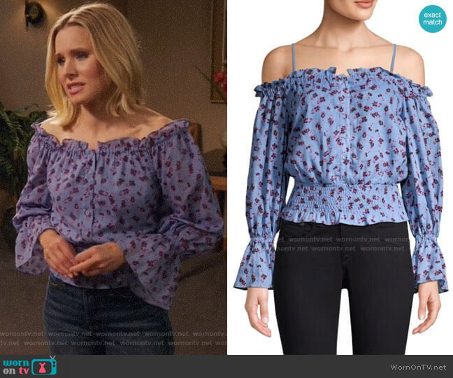 Parker Tori Top worn by Eleanor Shellstrop (Kristen Bell) on The Good Place