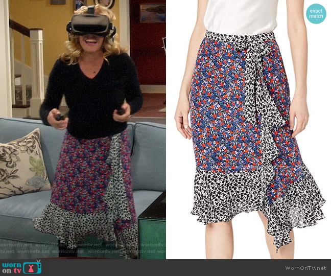 Parker Collins Skirt worn by Vanessa Baxter (Nancy Travis) on Last Man Standing