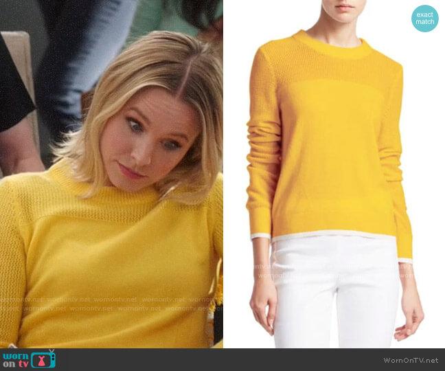 Rag & Bone Yorke Sweater worn by Eleanor Shellstrop (Kristen Bell) on The Good Place