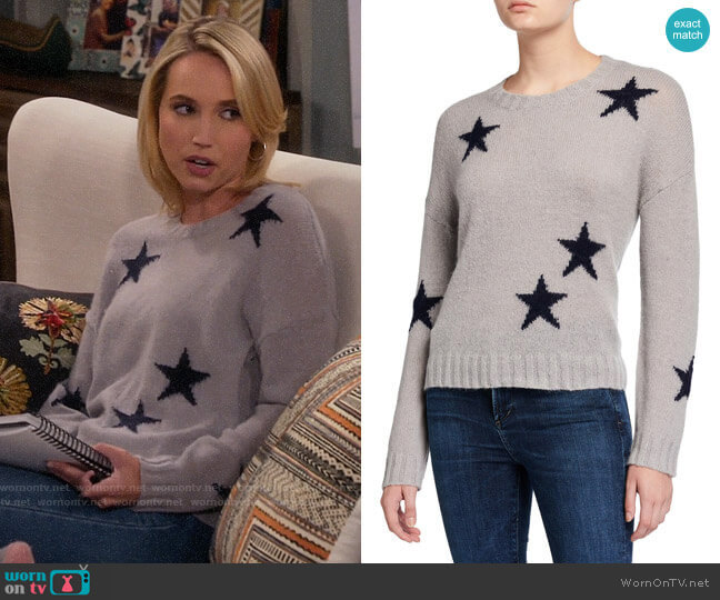 Rails Perci Star Sweater worn by Mandy Baxter (Molly McCook) on Last Man Standing