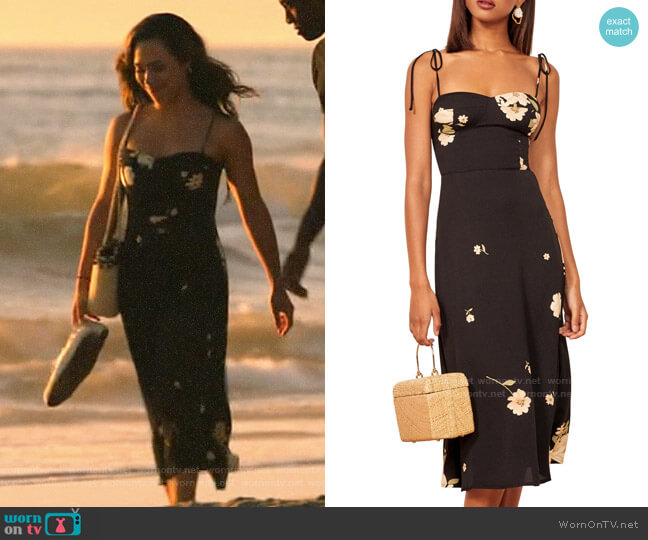 Reformation Saldana Dress in Kiara Floral worn by Emily Lopez (Jessica Camacho) on All Rise