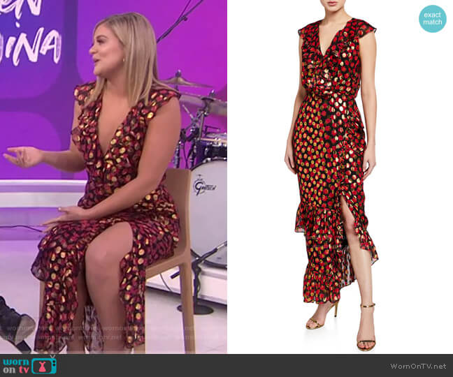Anita Dress by Saloni worn by Lauren Alaina on Today Show