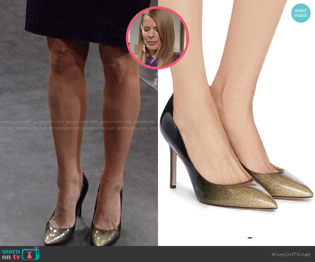 Sam Edelman Hazel Ombre Pumps worn by Phyllis Summers (Michelle Stafford) on The Young & the Restless