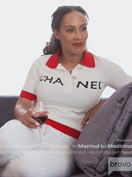 Tanya Sam's Chanel Polo on The Real Housewives of Atlanta