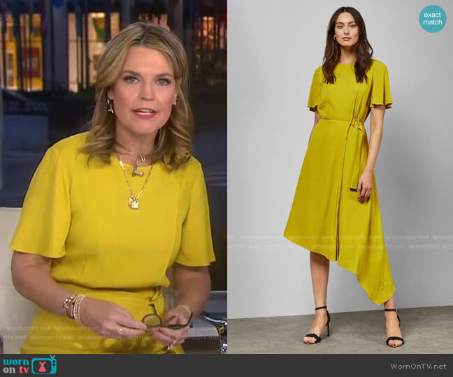 Marniee Dress by Ted Baker worn by Savannah Guthrie  on Today
