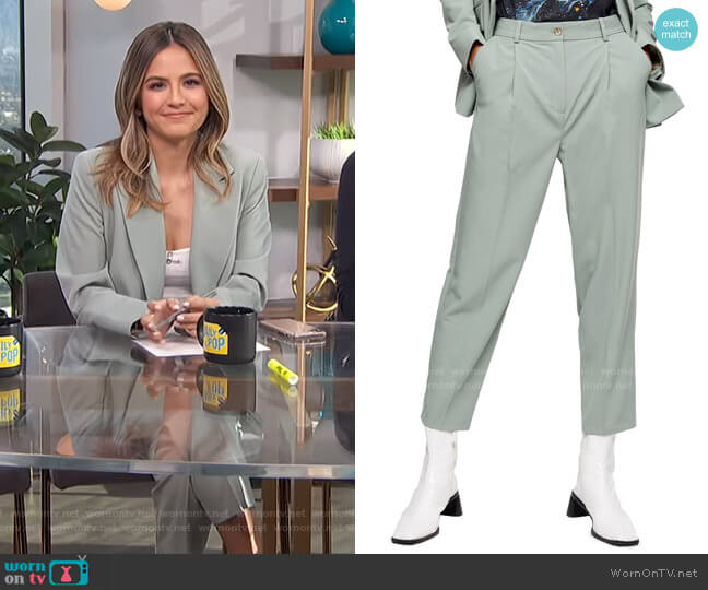 Kiki Peg Trousers by Topshop worn by Erin Lim  on E! News