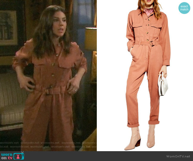Topshop Java Boilersuit worn by Abigail Deveraux (Kate Mansi) on Days of our Lives