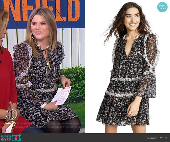 Essie Dress by Ulla Johnson worn by Jenna Bush Hager  on Today