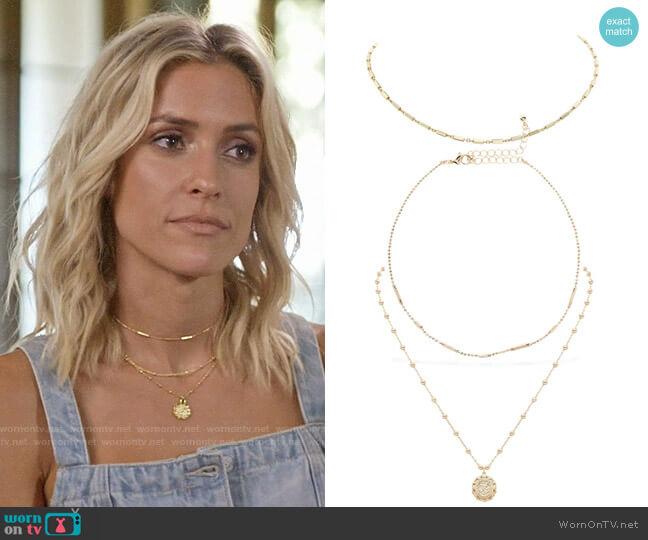Uncommon James Better on You, Ready to Mingle and Small Atocha Necklace worn by Kristin Cavallari  on Very Cavallari