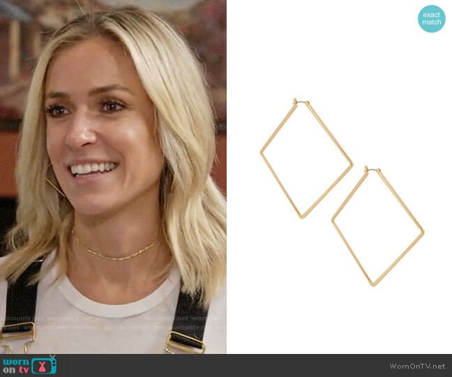 Uncommon James Girl Boss Earrings worn by Kristin Cavallari  on Very Cavallari