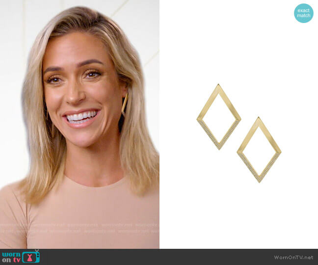 Uncommon James Gotham Earrings worn by Kristin Cavallari  on Very Cavallari