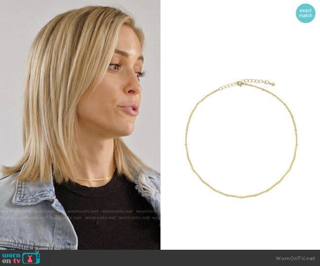 Uncommon James JFK Necklace worn by Kristin Cavallari  on Very Cavallari