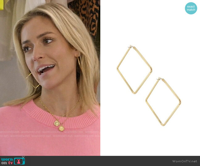 Uncommon James Medium Girl Boss Earrings worn by Kristin Cavallari  on Very Cavallari