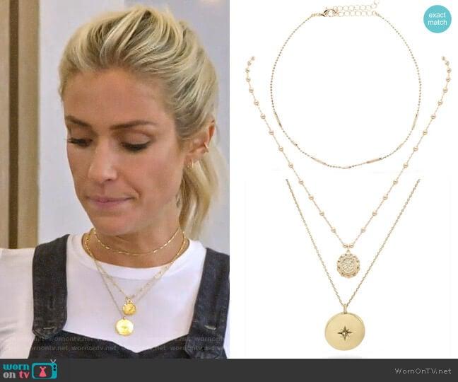 Uncommon James Ready To Mingle, Small Atocha, and Starburst Necklaces worn by Kristin Cavallari  on Very Cavallari