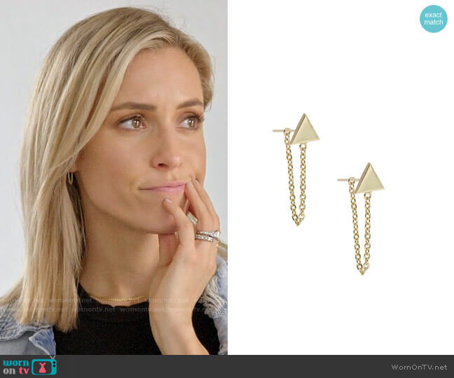 Uncommon James Refinery Earrings worn by Kristin Cavallari  on Very Cavallari
