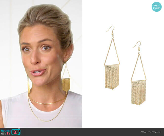 Uncommon James Union Square Earrings worn by Kristin Cavallari  on Very Cavallari