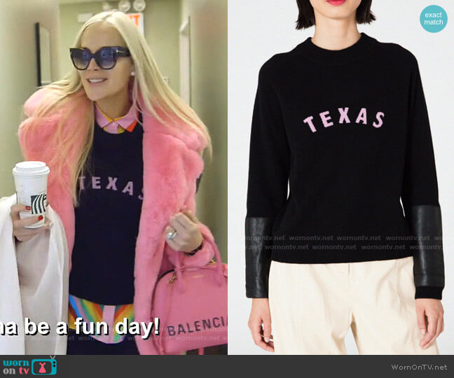 Gus Cashmere Sweater by Veda worn by Kameron Westcott  on The Real Housewives of Dallas