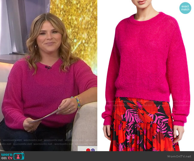 Melinda Sweater by Veronica Beard  worn by Jenna Bush Hager  on Today