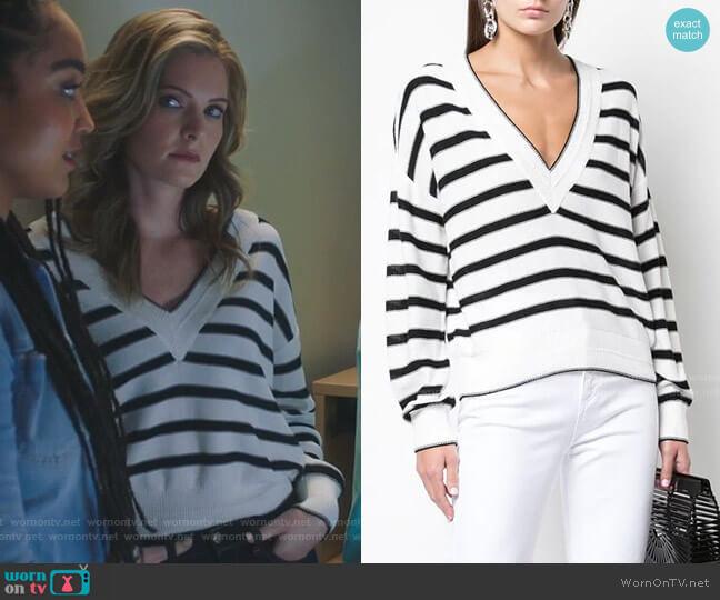 Jayden Sweater by Veronica Beard worn by Sutton (Meghann Fahy) on The Bold Type