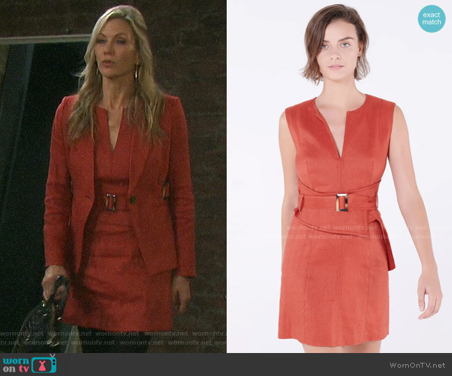 Veronica Beard Sadira Dress worn by Kristen DiMera (Stacy Haiduk) on Days of our Lives