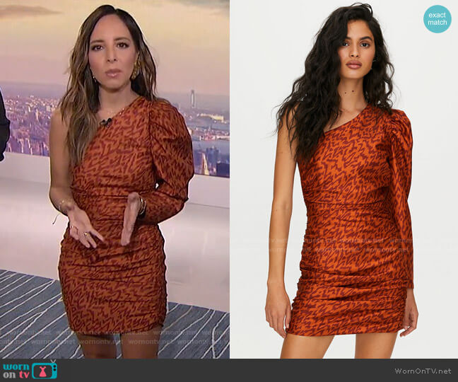 Rhapsody Dress by Wilfred worn by Lilliana Vazquez  on E! News
