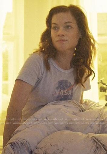 Zoey's NASA tee on Zoeys Extraordinary Playlist