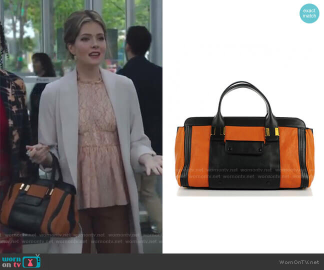 Alice Bag by Chloe worn by Sutton (Meghann Fahy) on The Bold Type
