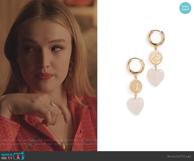 Heart Of True Love Earrings by Anni Lu